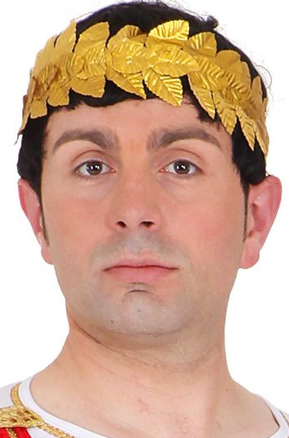 Corona di alloro antico imperatore romano o laureato