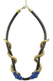 Collana egiziana Cleopatra o Deneris madre dei draghi dal trono di spade o medusa