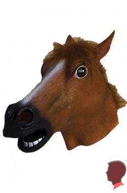Maschera cavallo in lattice a tutta testa