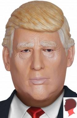 Maschera di Donald Trump presidente degli USA