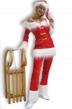 Costume Abito Babba Natale Lusso