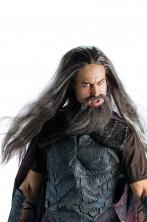 Parrucca e barba di Ade adulto