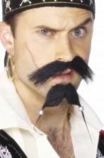 Trucco: Baffi e Barba a due punte da Pirata Jack