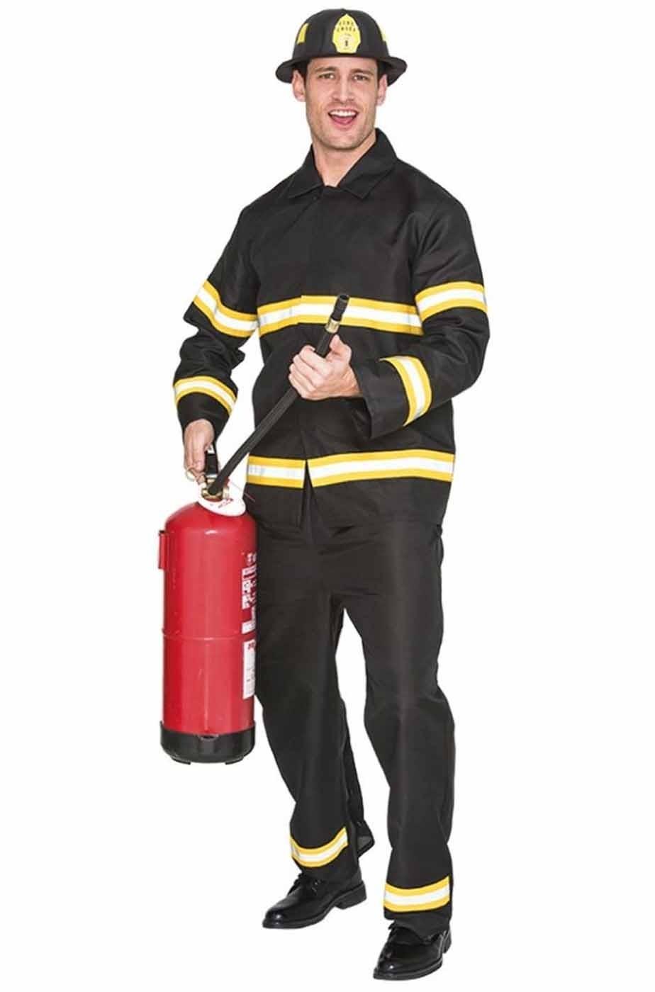 Costume da Pompiere vigile del fuoco adulto uomo taglia M 4e87830c79fe