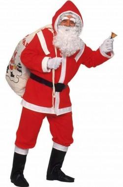 Costume abito Babbo Natale completo