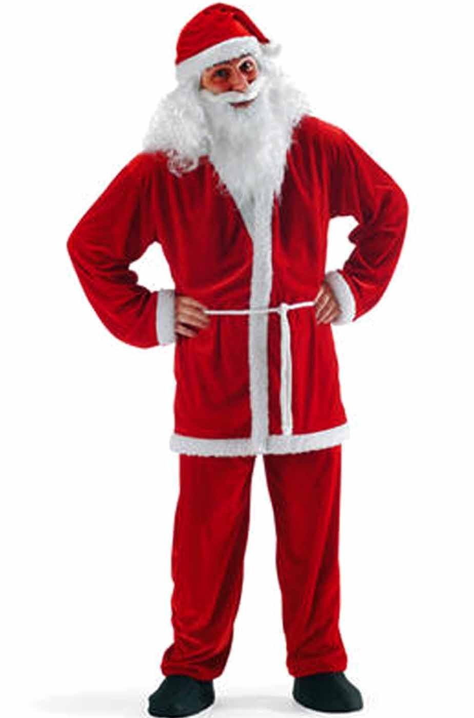 Costume abito Babbo Natale