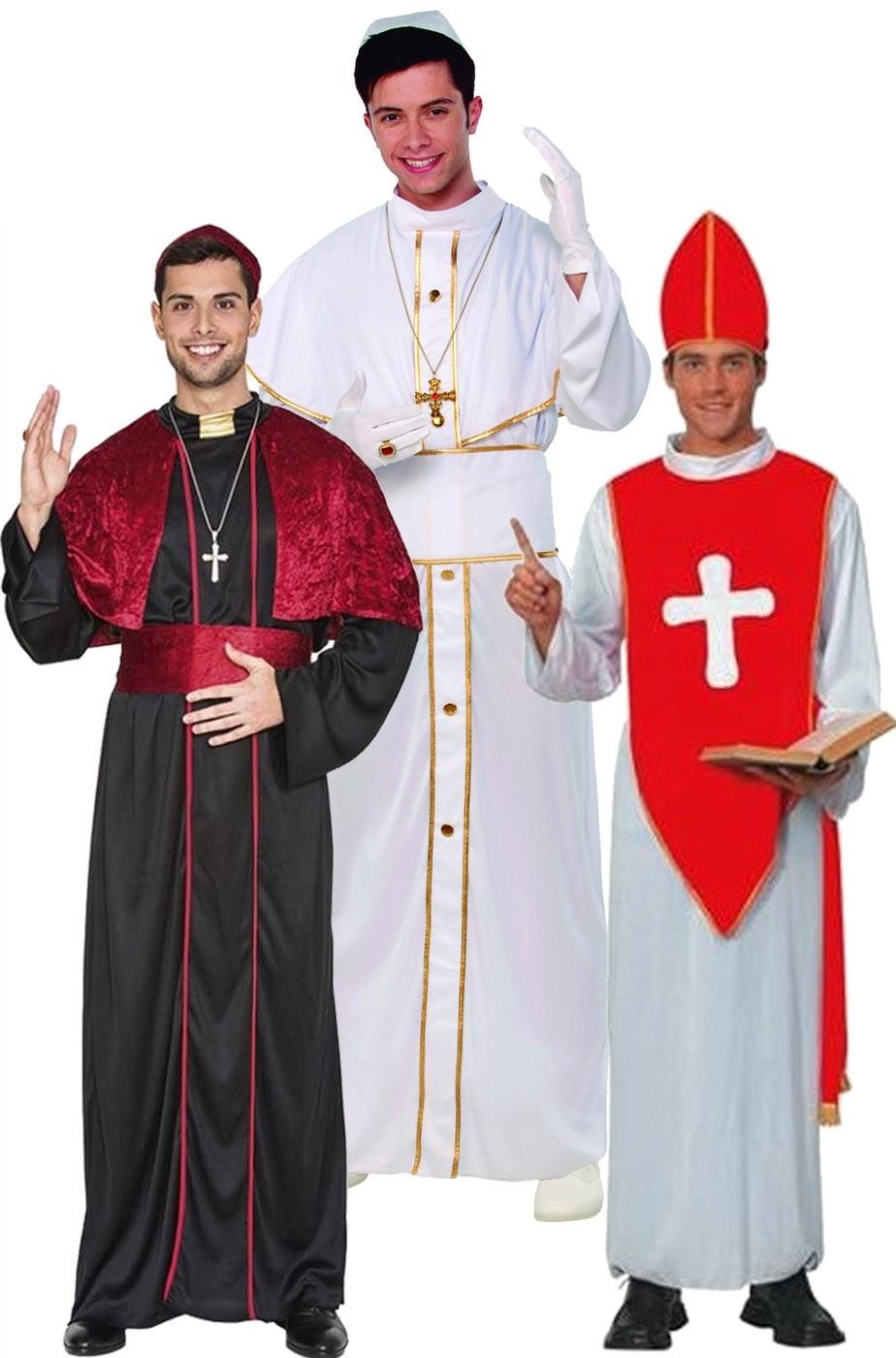 Costume di carnevale adulto da Cardinale con cappello f871410c10c