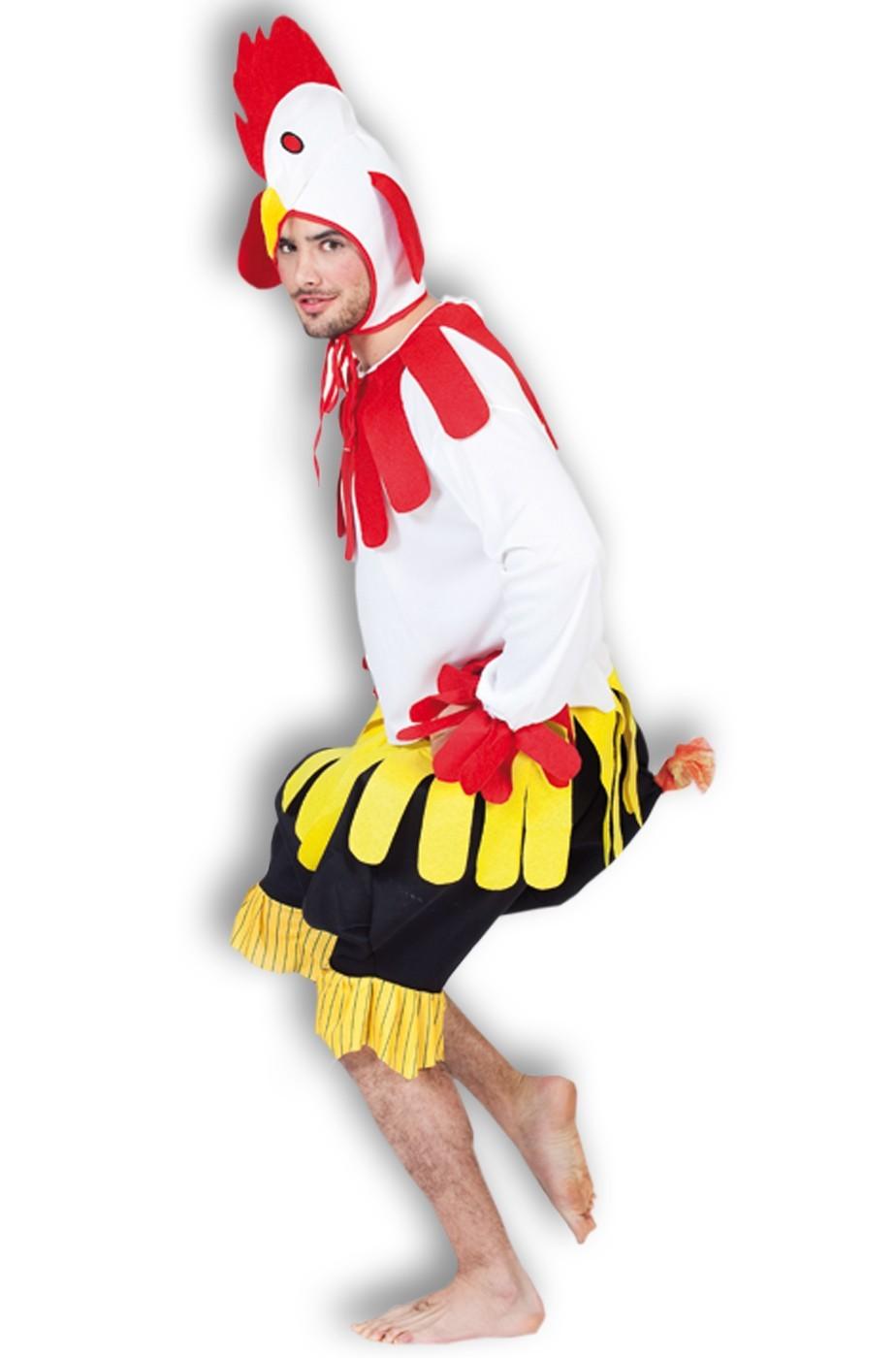 Costume da gallina da pollo o da gallo