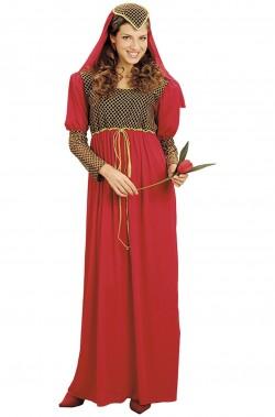 Costume dama medievale donna adulta o giulietta