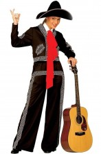 Costume donna messicana o mariachi