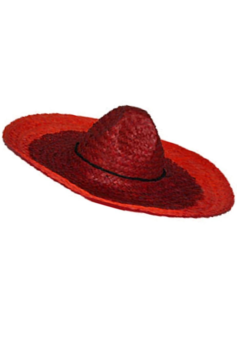 Cappello messicano sombrero 60cm  disponibile solo arancione
