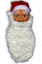 Barba Babbo Natale Lunghissima Riccia Bianca sporco
