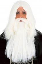 Parrucca e barba mago