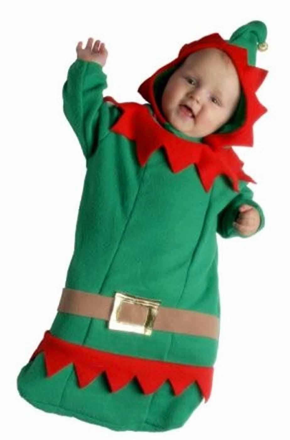 costume di carnevale da neonato da piccolo elfo 261b255d1504