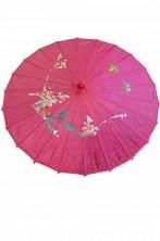 Ombrello Parasole cinese o giapponese geisha rosa circa 82 cm rosa