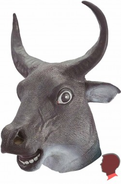 Maschera  toro tauren  o minotauro o bue