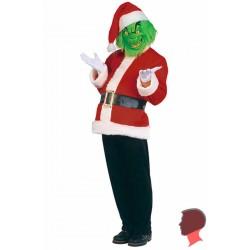 Costume del Grinch di Jim Carrey adulto