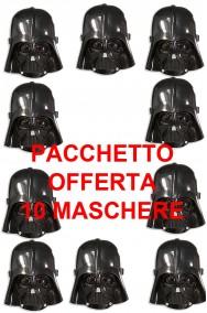 10 Maschere Darth Fener Darth Vader Star Wars Bambino
