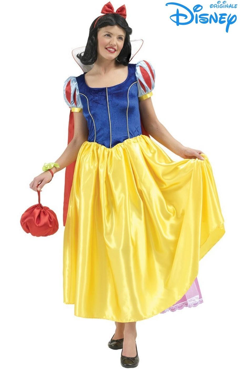 nuovo stile di scegli il più recente tecniche moderne vestito di carnevale da Biancaneve per donnna adulto originale Disney