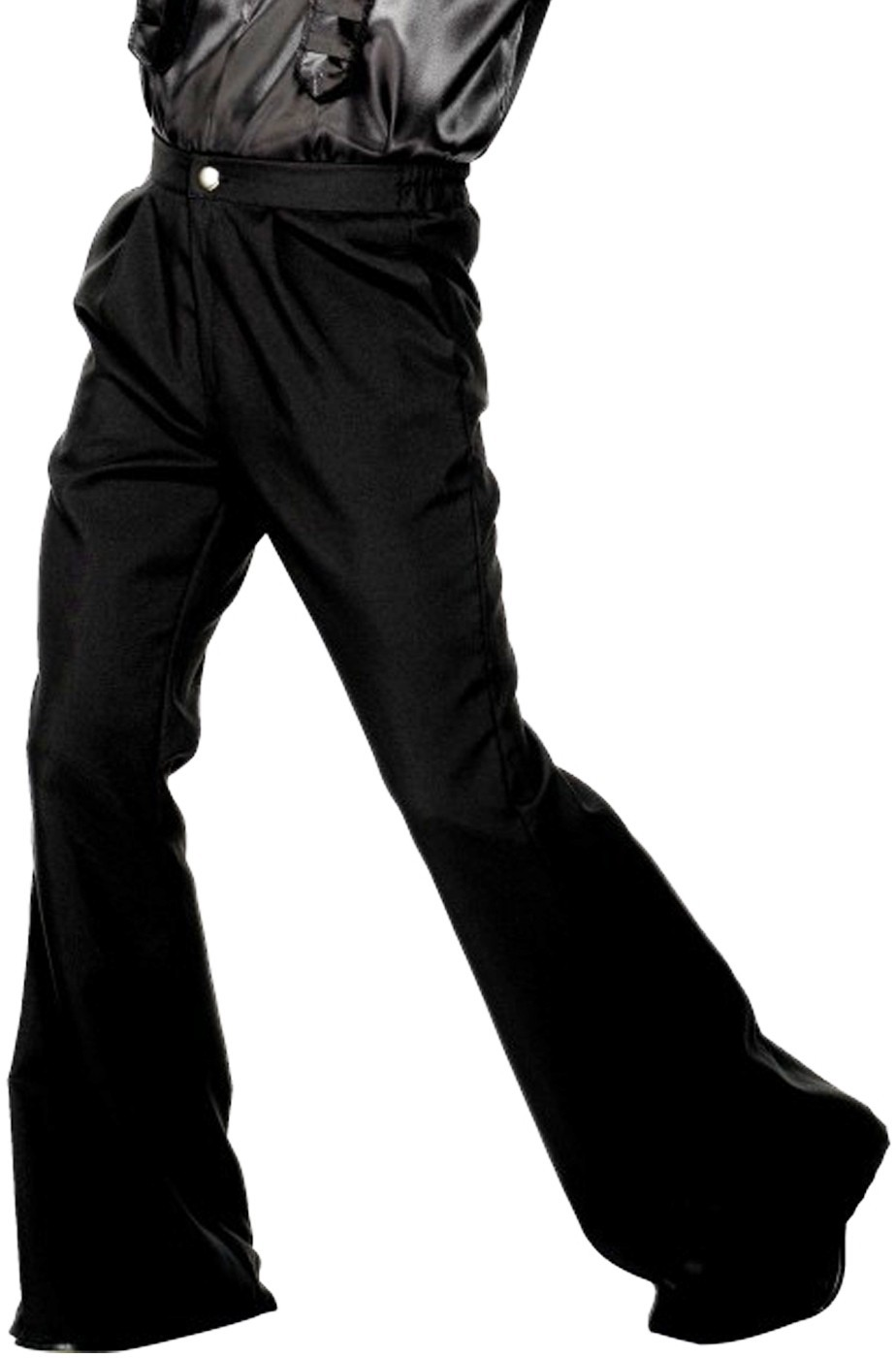 93eb566b65 Pantaloni anni 70 a zampa di elefante neri