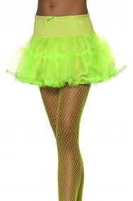 Sottogonna Verde fluo neon tutu'
