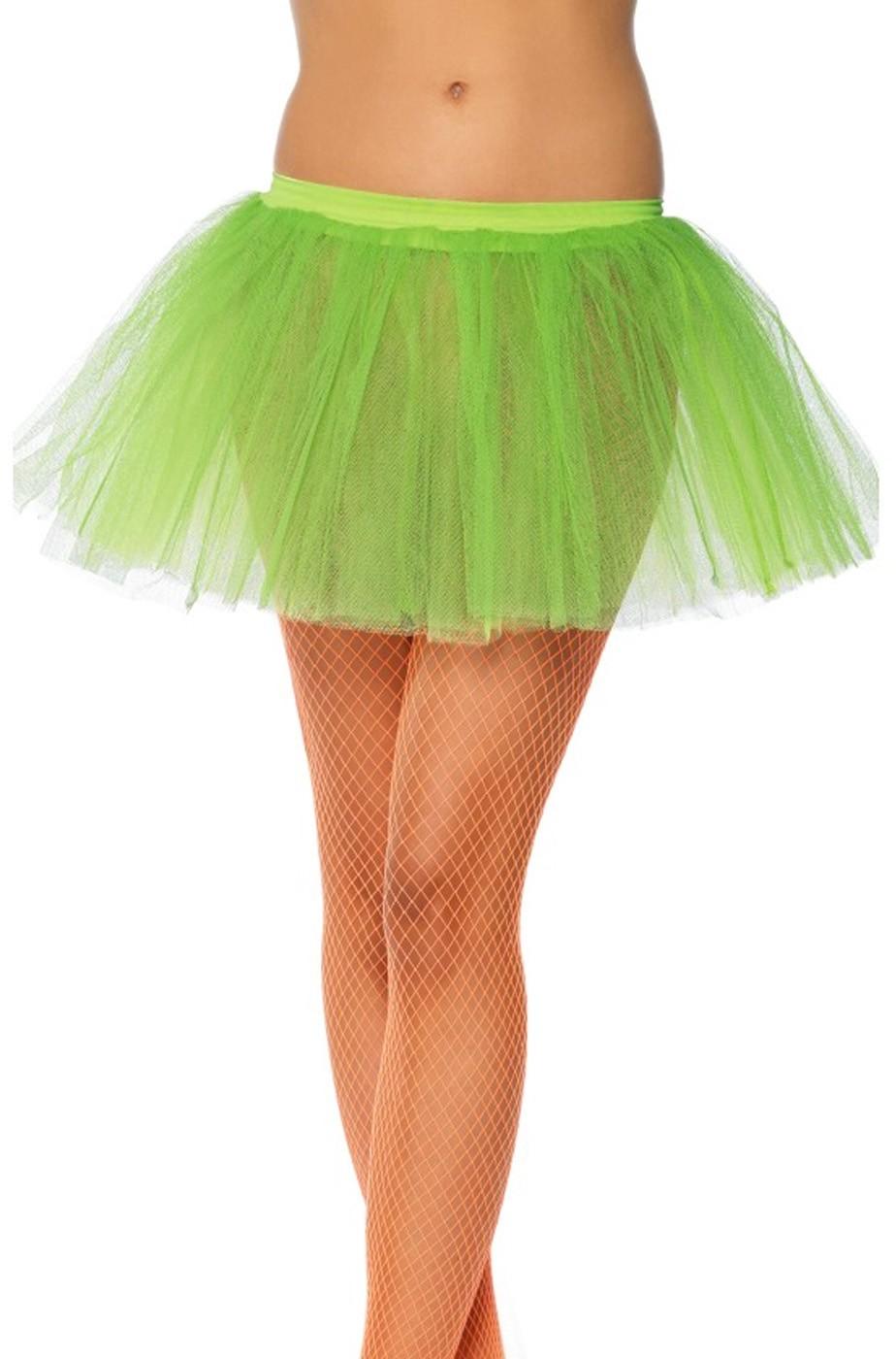 Sottogonna Tulle Verde Per Trilli