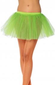 Sottogonna Verde fluo neon tutu' Trilli