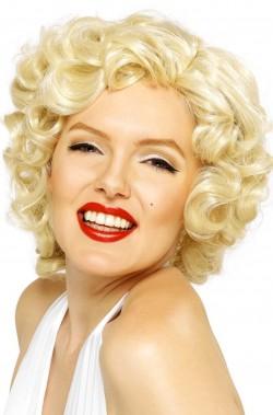 Parrucca Bionda Mossa Marilyn Monroe