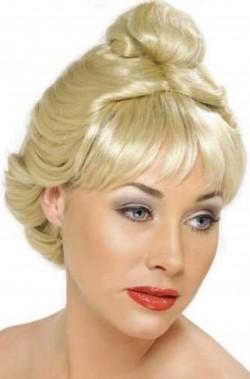 Parrucca donna bionda corta Anni 40
