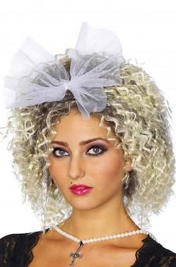 Parrucca donna Bionda corta Anni 80