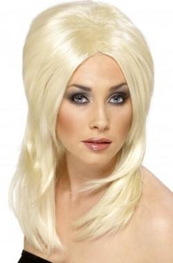 Parrucca Donna Bionda Scalata