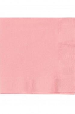 Set 20 tovaglioli party rosa 33x33