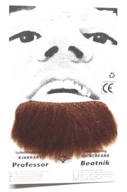 Trucco: Barba finta pizzetto marrone Professor