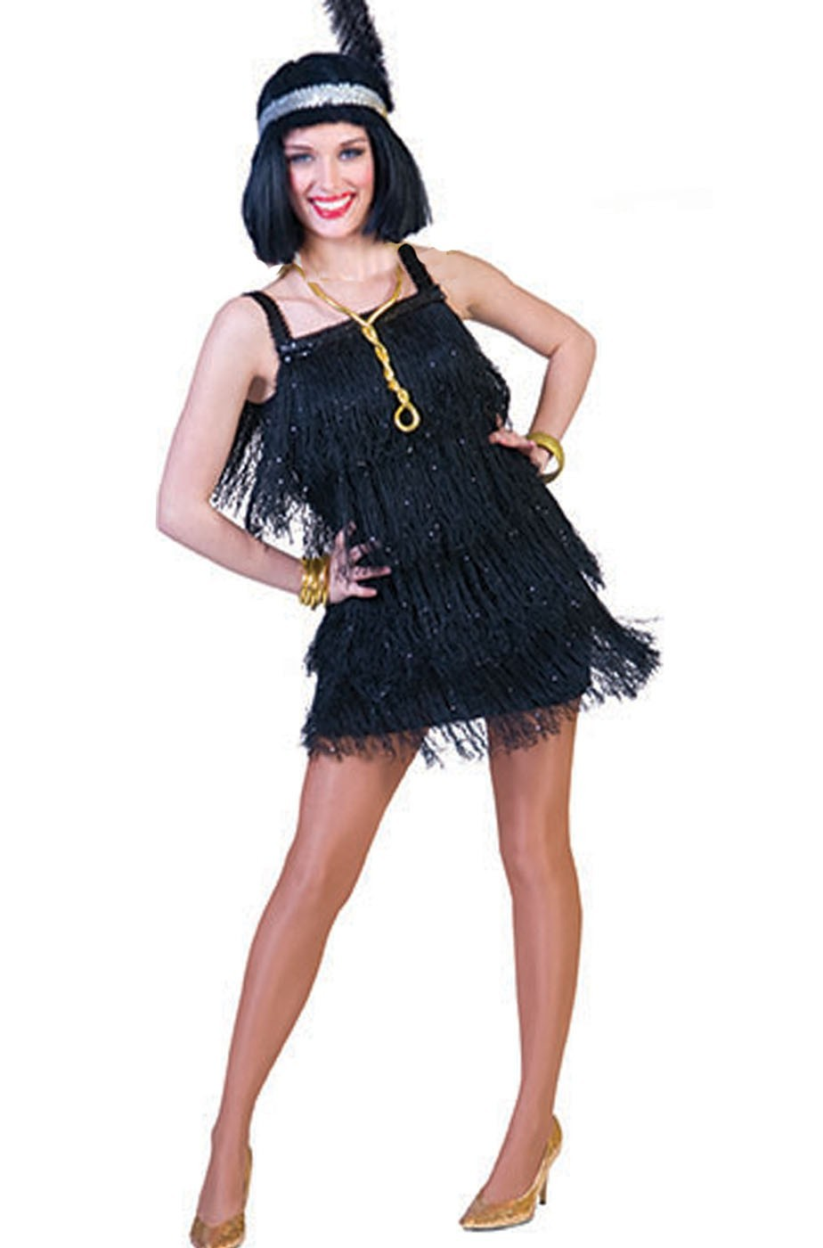 Costume donna sexy anni 20 Charleston  Flapper