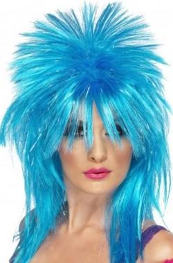 Parrucca punk o rock anni 80