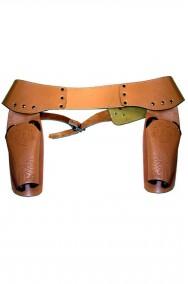 Cinturone Cowboy adulto doppia fondina