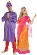 Coppia di Costumi attori di Bollywood principi indiani