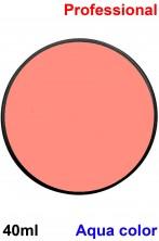Trucco teatrale cialda aqua color 40 ml rosa