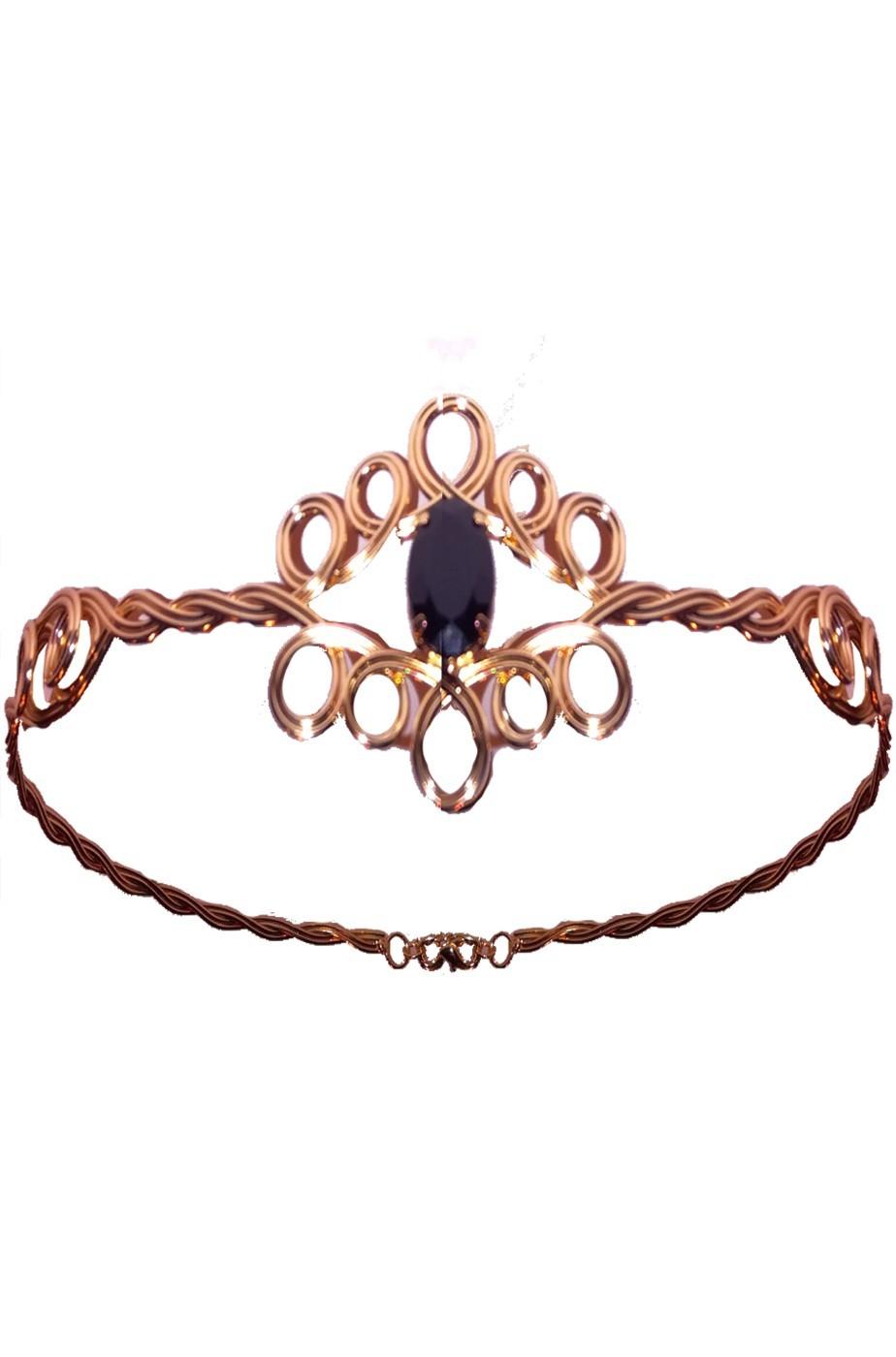 Corona o diadema regina medievale