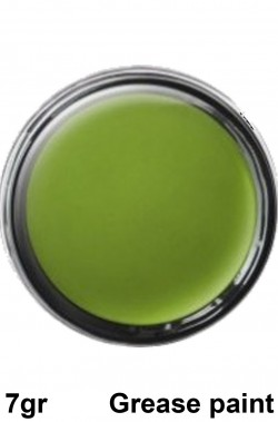 Trucco teatrale in cialda grease 7g verde
