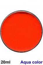 Trucco teatrale cialda aqua color 20 ml arancio