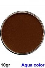 Trucco teatrale in cialda acqua color Marrone 10gr