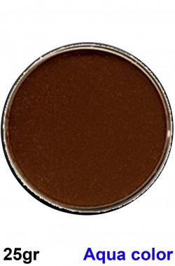 Trucco teatrale in cialda acqua color Marrone Marrone 25gr