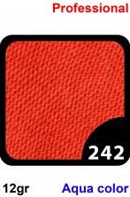 Trucco Professionale Aqua Color Cialda 12gr Rosso Zenzero