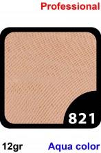 Trucco Professionale Aqua Color Cialda 12gr Giallo Deserto Scuro