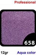 Trucco Professionale Aqua Color Cialda 12gr Viola Lilla