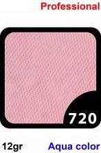Trucco Professionale Aqua Color Cialda 12gr Rosa Orchidea
