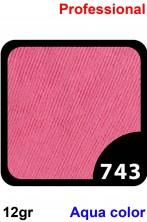 Trucco Professionale Aqua Color Cialda 12gr Rosa Fucsia