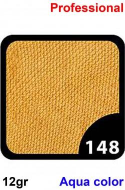 Trucco Professionale Aqua Color Cialda 12gr Oro Pallido