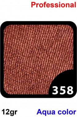 Trucco Professionale Aqua Color Cialda 12gr Marrone Rame